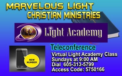Light Academy – New Teleconference Number!