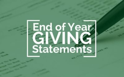 Tithing/Giving Statements
