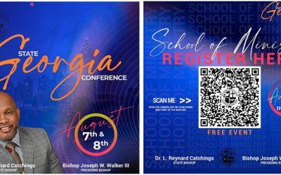 Georgia Full Gospel 2021 State Conference Registration