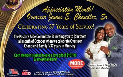 Overseer's 37th Anniversary Celebration